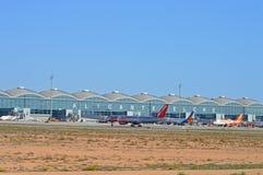 Alicante flygplats Royaltyfri Fotografi