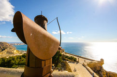 Alicante Fortress Stock Photo