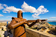 Alicante Fortress Stock Photography