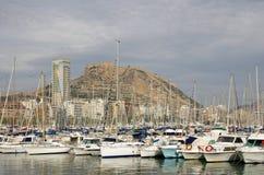 Alicante harbor Royalty Free Stock Photography