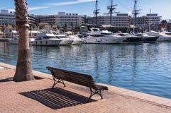 Alicante harbor Royalty Free Stock Photo