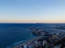 Alicante kust Royaltyfria Foton