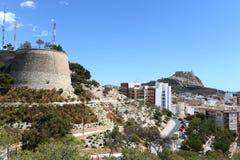 Alicante - la ville en région autonome de Valensiysky photographie stock libre de droits