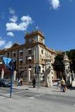 Alicante la ville en région autonome de Valensiysky, la capitale de la province d'Alicante Vue urbaine photo libre de droits