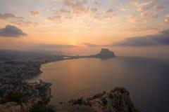 Alicante landscape Royalty Free Stock Photos