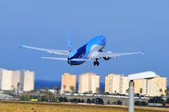 Alicante lotnisko Zdjęcia Royalty Free