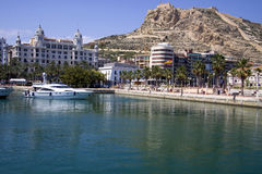 Alicante Marina Stock Photo