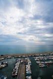 Alicante marina harbour royalty free stock photos