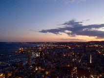 Alicante by night Stock Images