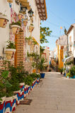 Alicante old town Royalty Free Stock Photography