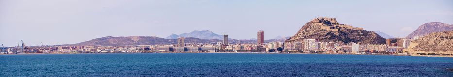 Alicante Panorama Royalty Free Stock Images