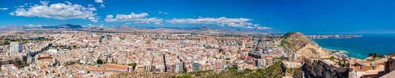 Alicante Panorama Royalty Free Stock Image