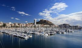 Alicante port Stock Photography