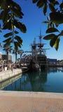 Alicante port Royaltyfria Bilder