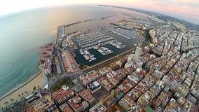 Alicante port - Spanien Arkivbild