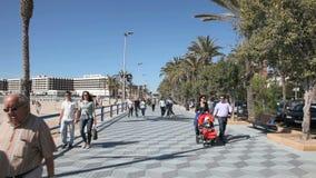 alicante promenada Hiszpanii Zdjęcie Stock