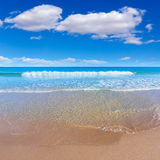 Alicante San Juan beach beautiful Mediterranean Stock Photography