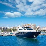 Alicante Santa Pola port marina from valencian Community Royalty Free Stock Images