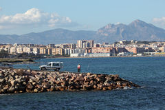 Alicante skyline, Spain Royalty Free Stock Image