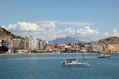 Alicante skyline, Spain Stock Images