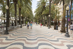 Alicante Spagna Fotografia Stock