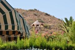 Alicante spain Detalhe de casa privada Imagem de Stock Royalty Free