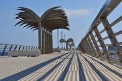 Alicante spain Vista agradável da ponte moderna Imagens de Stock Royalty Free