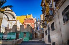 Alicante Spanien Royaltyfri Fotografi