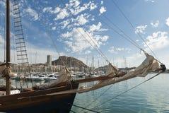 Alicante Spanien Royaltyfria Foton