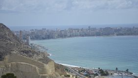 Alicante Spanien Stockfotografie