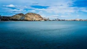 Alicante Spanien Arkivbild
