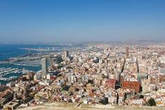 Alicante Spanien Tur till Spanien Arkivfoto