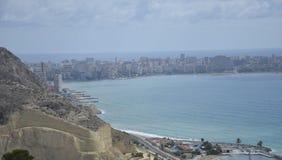Alicante Spanje Stock Fotografie