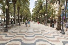 Alicante Spanje Stock Foto