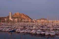 Alicante-Stadt Stockbild