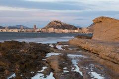 Alicante-Stadt Lizenzfreie Stockfotos
