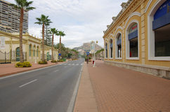 Alicante street Royalty Free Stock Images