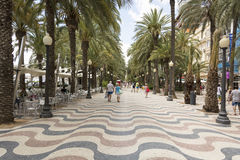 Alicante Street Royalty Free Stock Image