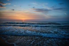 Alicante sunrise stock photo