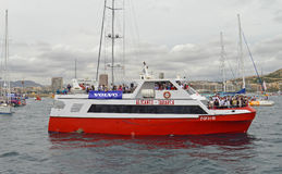 Alicante till den Tabarca färjan Royaltyfri Foto