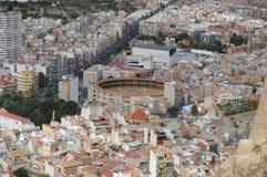 Alicante tjurfäktningsarena Royaltyfri Bild