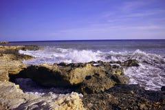 Alicante, Torrevieja, plaża, morze śródziemnomorskie fotografia stock
