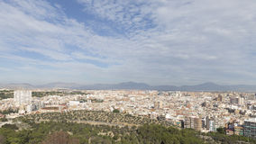 Alicante view of the residential areas Stock Images