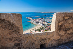 Alicante View Stock Photo