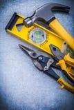 Alicates de aço nivelados do cortador do martelo de garra da construção Imagem de Stock Royalty Free