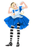 Alice αυξάνομαι-επάνω Στοκ εικόνα με δικαίωμα ελεύθερης χρήσης