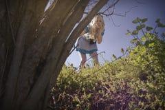 Alice στη χώρα των θαυμάτων στοκ εικόνα με δικαίωμα ελεύθερης χρήσης