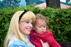 Alice στη χώρα των θαυμάτων Στοκ φωτογραφία με δικαίωμα ελεύθερης χρήσης