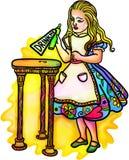Alice au pays des merveilles Illustration de Vecteur