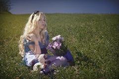Alice au pays des merveilles image stock